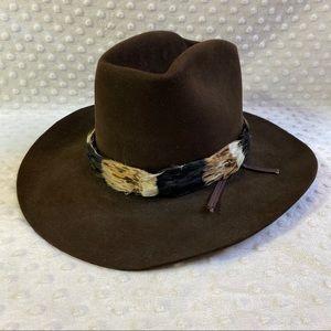 Resistol XXX Beaver Western Cowboy Hat Brown 6 7/8